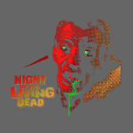 Night Of The Living Dead Cemetery Zombie