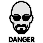 Heisenberg I am the danger