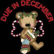 December Teddy Bear Maternity Due Date