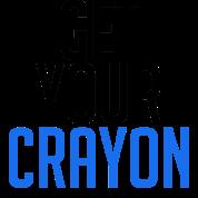 Get Your Crayon Blue (Black)