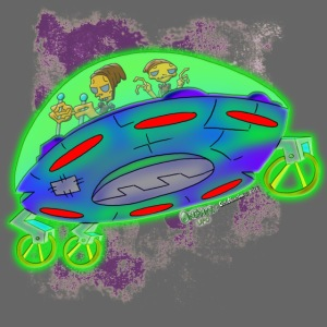 Ongher's UFO Flying Saucer