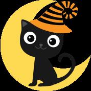 Halloween Black Cat and Moon T-Shirt | Mainstreet Kids T-shirts ...