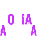 Socially Awkward White And Purple