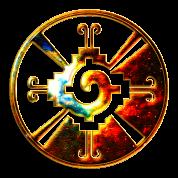 Hunab Ku - Mayan Symbol - Heart of Galaxy /