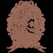 Lady skull Mirror