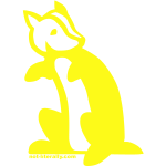 Not Literally Hufflepuff Logo - Large
