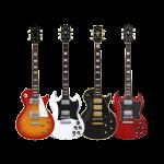 Four Electric Guitars