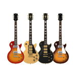 Four Electric Guitars