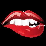 Bitten Lips