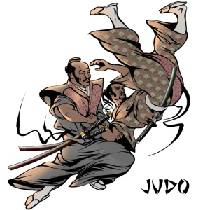 Judo Design Uki Otoshi Throw
