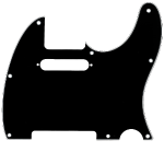 Tele Black Pickguard