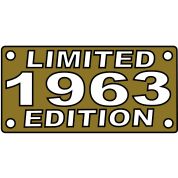 year 1963 limited edition