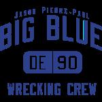 BIG BLUE Jason Pierre-Paul (DE #90)