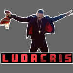 Luda cut out: Dark garments