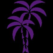 Palm Tree / Tattoo Style / Vector /