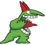 Just For Laughs Gags Mascot Victor Screaming iso