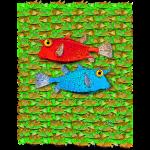red fish blue fish many fish 12168780