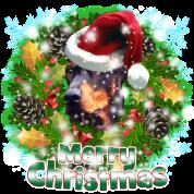 Merry Christmas Doberman