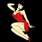 Retro Pin-Up Girl 50s Tattoo PinUp Shirts
