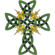 St Patrick's Day Celtic Cross
