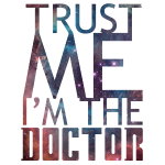 'Trust me I'm the doctor' for light background