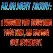 Argument Joke