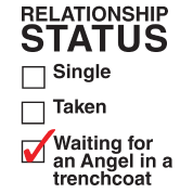 Waiting for an Angel in a Trenchcoat