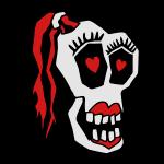 Skull Girl LOVE 1v