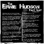 erniehudsonfactlist