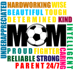 Soccer Gift Soccer Mom Adjectives