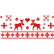 "Reindeer Christmas ""Norwegian X-Mas"""