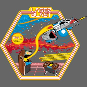 LaserBlast (for darkshirts)