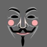 Fawkes mask 1