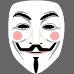 Fawkes mask 2