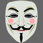 Fawkes mask 3