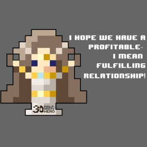Time Goddess - Profitable Relationship (White txt)