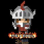 Knight ME v EVIL (Black logo)