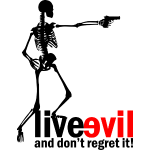 live_evil_skeleton_gun_black_and_red
