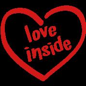Love Inside - Heart Shaped Logo