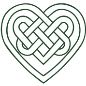 Celtic heart, symbol - infinite love & loyalty