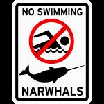 Narwhals - No Swimming