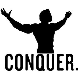 Conquer Arnie Vector Design