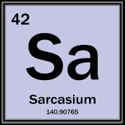 Sarcasium - Periodic Table Tshirt