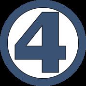 4 four logo