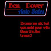 Funny Used Car Salesman Sales Joke T-Shirt | Spreadshirt