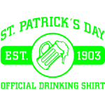 St. Patrick's Day Drinking Shirt