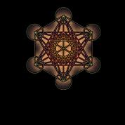 Metatron's Cube - Sacred Geometry Symbol
