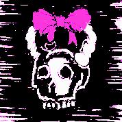 Crossfit Kettlebell Lady Skull Bow