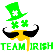 TEAM IRISH  st.Patty's day