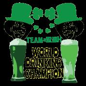 world drinking champion Irish team st.patty's day